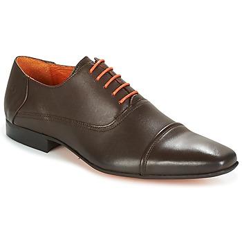 Sapatos Homem Richelieu Carlington RIOCHI Castanho