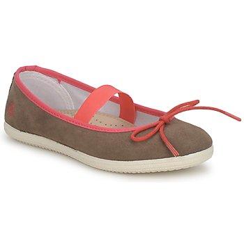 Sapatos Rapariga Sabrinas Petit Bateau KITY KID Cáqui