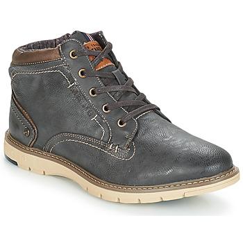 Sapatos Homem Botas baixas Mustang YELOU Cinza