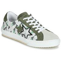 Sapatos Mulher Sapatilhas Mustang 2874302-277 Cáqui / Branco
