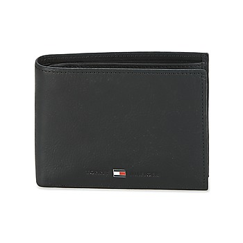 Malas Homem Carteira Tommy Hilfiger JOHNSON CC AND COIN POCKET Preto