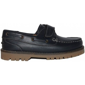 Sapatos Rapaz Sapato de vela Colores NAUTICO 105031 Marino Azul