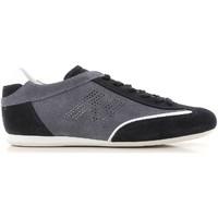 Sapatos Homem Sapatilhas Hogan HXM0520G752I70697U blu