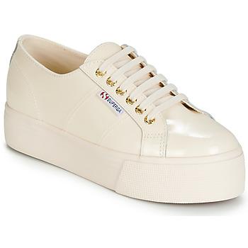 Sapatos Mulher Sapatilhas Superga 2790 LEAPATENT Cru
