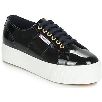 Sapatos Mulher Sapatilhas Superga 2790 LEAPATENT Marinho