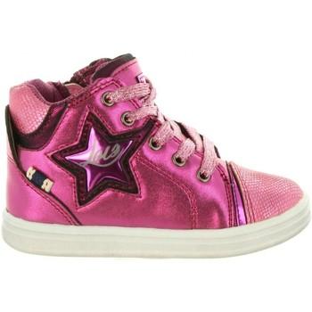 Sapatos Rapariga Sapatilhas de cano-alto Lois Jeans 46019 Rosa