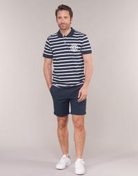 Textil Homem Shorts / Bermudas Selected SLHSTRAIGHTPARIS Marinho
