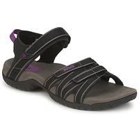 Sapatos Mulher Sandálias desportivas Teva TIRRA Preto / Cinza