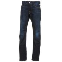 Textil Homem Calças Jeans Replay WAITON Azul / Escuro
