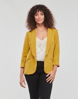 Textil Mulher Casacos/Blazers Betty London IOUPA Amarelo