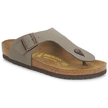 Sapatos Homem Chinelos Birkenstock RAMSES Cinza