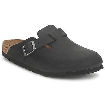 Sapatos Tamancos Birkenstock BOSTON PREMIUM Preto