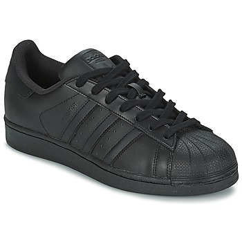 Sapatos Sapatilhas adidas Originals SUPERSTAR FOUNDATION Preto
