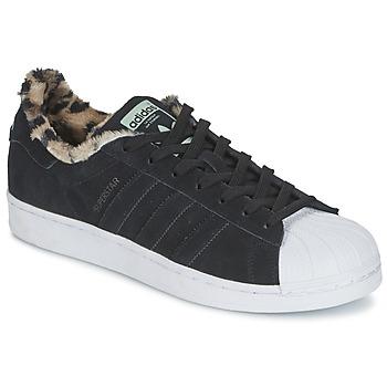 Sapatos Mulher Sapatilhas adidas Originals SUPERSTAR W Preto