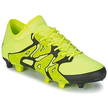 Sapatos Homem Chuteiras adidas Performance X 15.1 FG/AG Amarelo