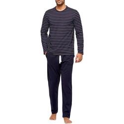 Textil Homem Pijamas / Camisas de dormir Impetus GO61024 039 Azul