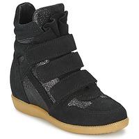 Sapatos Rapariga Sapatilhas de cano-alto Acebo's MILLIE Preto