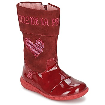 Sapatos Rapariga Botas Agatha Ruiz de la Prada DAFNE Vermelho