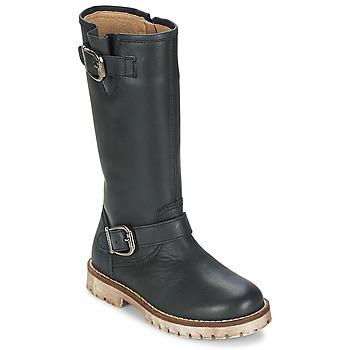 Sapatos Rapariga Botas Garvalin GALERA Preto