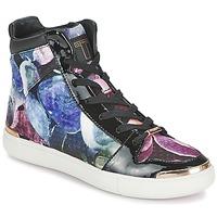 Sapatos Mulher Sapatilhas de cano-alto Ted Baker MADISN Preto / Multicolor