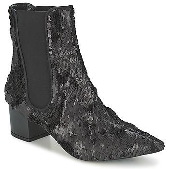 Sapatos Mulher Botas baixas RAS ANAHI Preto