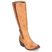 Sapatos Mulher Botas Dkode LEANNE Conhaque