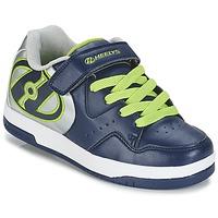 Sapatos Rapaz Sapatilhas com rodas Heelys HYPER Marinho / Prateado / Verde