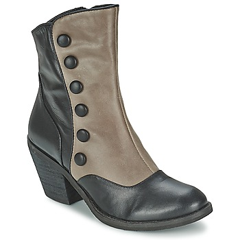 Sapatos Mulher Botins Lola Ramona GRINGO Cinza