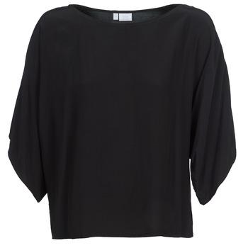 Textil Mulher Tops / Blusas Alba Moda 202586 Preto