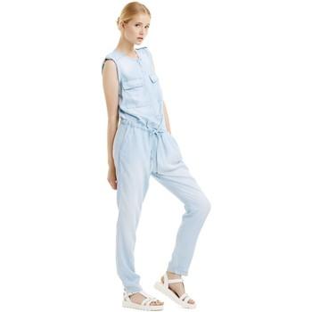 Textil Mulher Macacões/ Jardineiras Kocca Macacão Lewell Azul