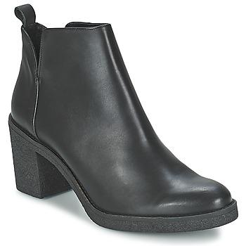 Sapatos Mulher Botins Miista KENDALL Preto