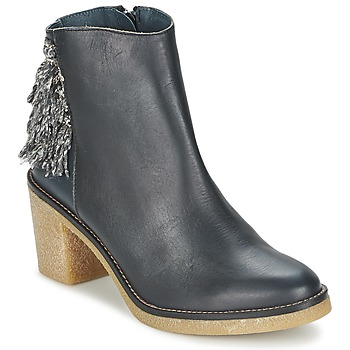 Sapatos Mulher Botins Miista BRIANNA Azul / Marinho