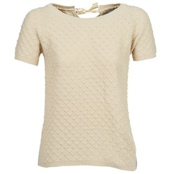 Textil Mulher camisolas Betty London CLOU Bege