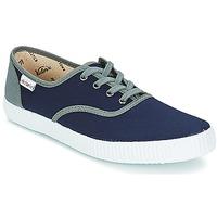 Sapatos Sapatilhas Victoria INGLESA LONA DETALL CONTRAS Marinho