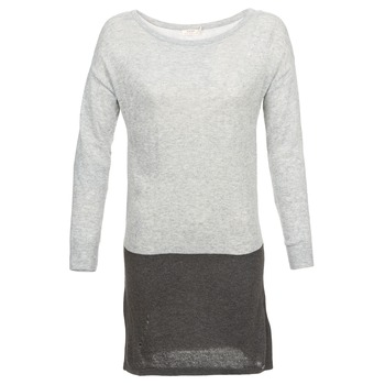 Textil Mulher Vestidos curtos DDP EMMI Preto / Cinza
