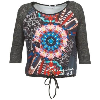 Textil Mulher T-shirt mangas compridas Smash ANNABEL 42 Cinza / Multicolor