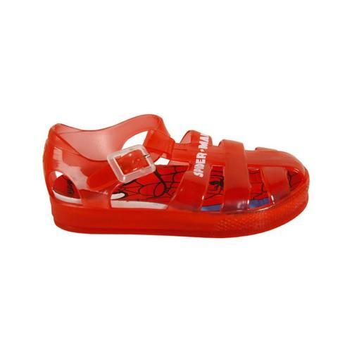 Sapatos Rapaz Sandálias Spiderman 2301-1142 ROJO Rojo