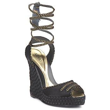 Sapatos Mulher Sandálias Azzaro LUGGANO Preto