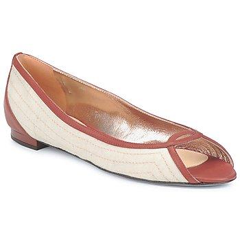 Sapatos Mulher Sabrinas Azzaro JOUR Bege / Camel