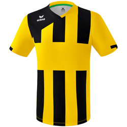 Textil Rapaz T-Shirt mangas curtas Erima Maillot enfant  Siena 3.0 jaune/noir