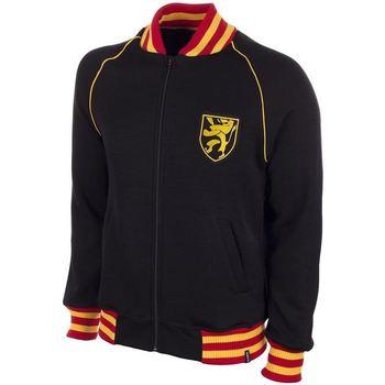 Textil Homem Sweats Copa Football Sweat zippé Belgique 1960's noir/jaune/rouge