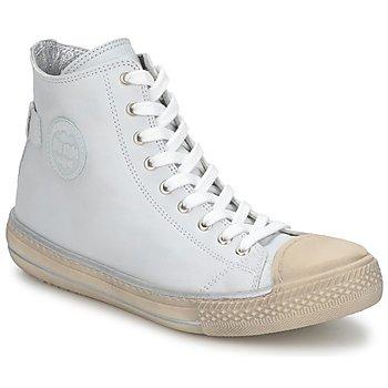 Sapatos Criança Sapatilhas de cano-alto Hip LOUGO Creme