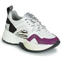 Sapatos Mulher Sapatilhas Meline ARGAGALI Branco / Preto