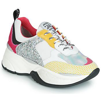 Sapatos Mulher Sapatilhas Meline PUNKY DADDY Branco / Rosa