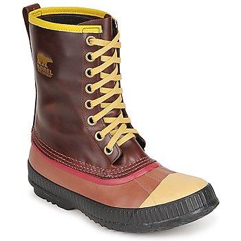Sapatos Homem Botas de neve Sorel MENS SENTRY ORIGINAL Castanho