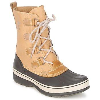 Sapatos Homem Botas de neve Sorel KITCHENER CARIBOU Caril / Pedra