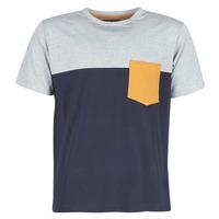 Textil Homem T-Shirt mangas curtas Casual Attitude JERMENE Cinza / Marinho