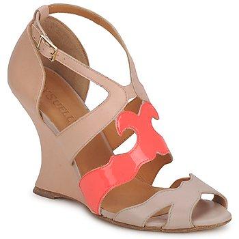 Sapatos Mulher Sandálias MySuelly PAULINE Toupeira / Groselha