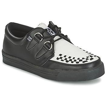 Sapatos Sapatos TUK CREEPERS SNEAKERS Preto / Branco