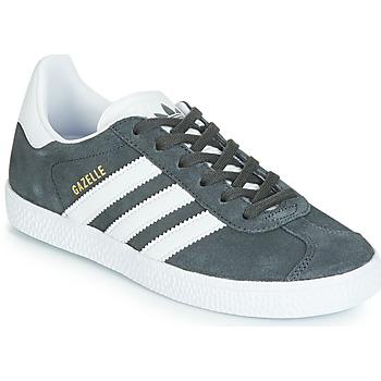 Sapatos Criança Sapatilhas adidas Originals GAZELLE C Cinza